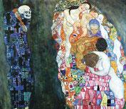 Gustav Klimt, Tod und Leben, 1910/15 © Leopold Museum, Wien, Inv. 630