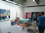 Fine Artのスタジオ