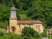 Eglise romane de Diusse