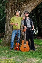 Das Duo Morrison's Round begeistert mit Folkmusik aus Irland und Schottland