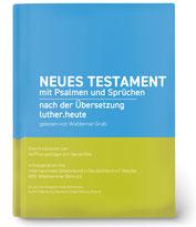 """Coverbild: Die Fertigstellung unserer kostenlosen Hörbibel für Jedermann  """"Luther.heute"""""""