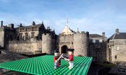 Jacobite battles in Britain recreated in LEGOs