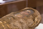 portrait mummy from Roman era Egypt