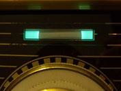 Magisches Band in einem Röhrenradio (EM84)