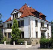 Haus und Praxis in der Richard-Wagner-Straße