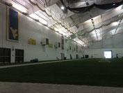 ウェストバージニアの室内練習場