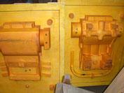 クランクケース木型