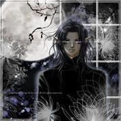 月夜の黒鵜