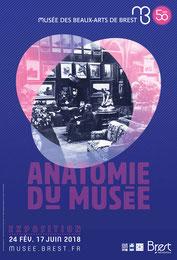 Affiche de l'exposition Anatomie du musée