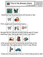 ソーシャルストーリーの例 Image:Pinterest