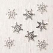 Metall Schneeflocken