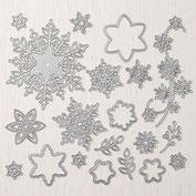 Thinlits Formen Stanzen Dies Schneeflocken