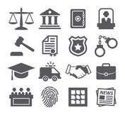 法律関係のアイコンをまとめた画像