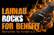 Das Eventlogo von Lahnau rocks for Benefit