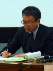 小林敏一氏 長野県教育委員会主任指導主事(現 長野県諏訪二葉高校 教頭)