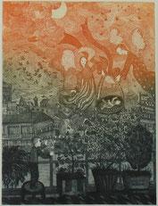 Angiola Bernardelli, madonna, incisione