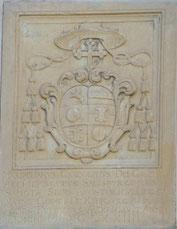 Wappen des Erzbischofs Max Gandolf von Kuenburg.
