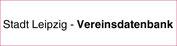 Stadt Leipzig - Vereinsdatenbank