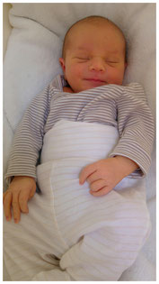 sicherer Babyschlaf in der Wombagee Federwiege