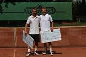 Finalist Petrenko und Sieger Jakunin