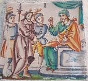 I Estación, Jesús es condenado a muerte (Via Crucis, Alarcón)