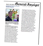 Scholz Vermietungen im General Anzeiger Bonn