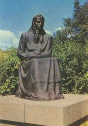 Vilnius. Paminklas Žemaitei. 1975m. (skulpt. P. Aleksandravičius). Z. Kazėno nuotr. / Monument to Žemaitė. 1975. Sculptor P. Aleksandravičius. Photo by Z. Kazėnas