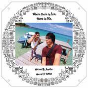 Photo frame precious memory for couples