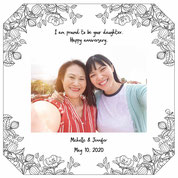 Photo frame for your Mom&Dad