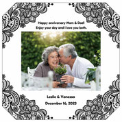 Photo frame gift for your parents