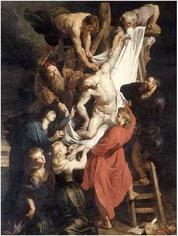Rubens, Descente de Croix, Cathédrale Anvers, copyright : KIK-IRPA, Bruxelles