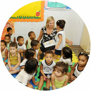 Korinne Algie Social project Rio Children school