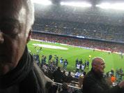 Selfie im Camp Nou (2014)