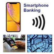 Smartphone Banking App, Handy und Tarif