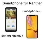 Smartphone für Rentner - oder doch ein einfaches Seniorenhandy?