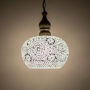 Oosterse lampen,mozaïek hanglampen, eettafellamp,filigrain,lampen