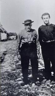 Le Rouge avec Jean Villebrun en 1938