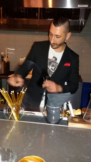 Carlo Splendorini, Modernist social club San Francisco (USA), bar-manager e partner-  Campione del Mondo cocktail 2012