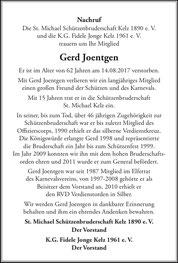 Artikel Amtsblatt Gemeinde Vettweiß 1. September 2017