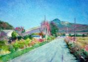 駒ヶ岳への道
