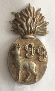 Insigne du bataillon du 99e R.I. détaché en Maurienne, circa 1930 (Coll. priv. 001)