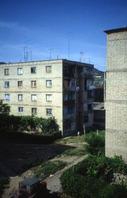 Wohnblocks in Tirana