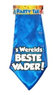 Party Tie 's Werelds Beste vader! €3,95