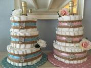 Luiertaarten en Cupcakes