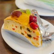 zuckerfreier Obstkuchen ohne Zucker
