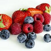 zuckerfreie Beeren-Frischkäsetorte ohne Zucker