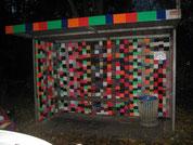 Umgestaltung der Bushaltestelle 2013
