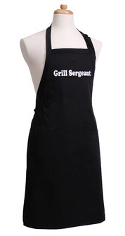 Grill Sergeant Küchenschürze für echte Kerle