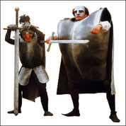 Wilde Wächter oder einfach Dicke Ritter?