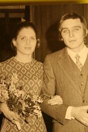 Hochzeit Ines Kumfert & Uli Pelz 1969